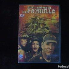 Cine: LA PATRULLA - BURT LANCASTER - DVD COMO NUEVO. Lote 279325893