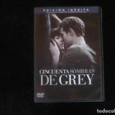 Cine: CINCUENTA SOMBRAS DE GREY - EDICION INEDITA - DVD COMO NUEVO. Lote 279325943