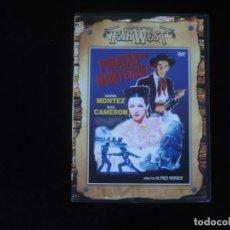 Cine: PIRATAS DE MONTERREY - DVD COMO NUEVO. Lote 279325988