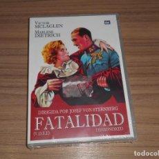 Cine: FATALIDAD DVD VICTOR MCLAGLEN MARLENE DIETRICH NUEVA PRECINTADA. Lote 279369793