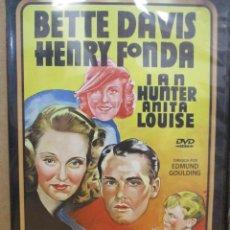 Cine: AQUELLA MUJER - BETTE DAVIS - HENRY FONDA - DVD. Lote 279370373