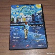 Cine: MIDNIGHT IN PARIS DVD DE WOODY ALLEN COMO NUEVA. Lote 279371338