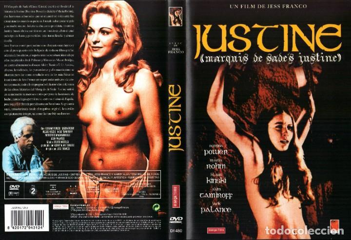 JUSTINE 1968 DVD ROMINA POWER MARIA ROHM KLAUS KINSKI JESS FRANCO JACK PALANCE (Cine - Películas - DVD)