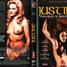 Cine: JUSTINE 1968 DVD ROMINA POWER MARIA ROHM KLAUS KINSKI JESS FRANCO JACK PALANCE. Lote 279375828