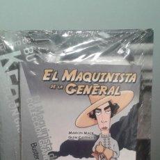 Cine: EL MAQUINISTA DE LA GENERAL. BUSTER KEATON. EL PAIS Nº 15 DVD + LIBRITO. PRECINTADO.. Lote 279377113