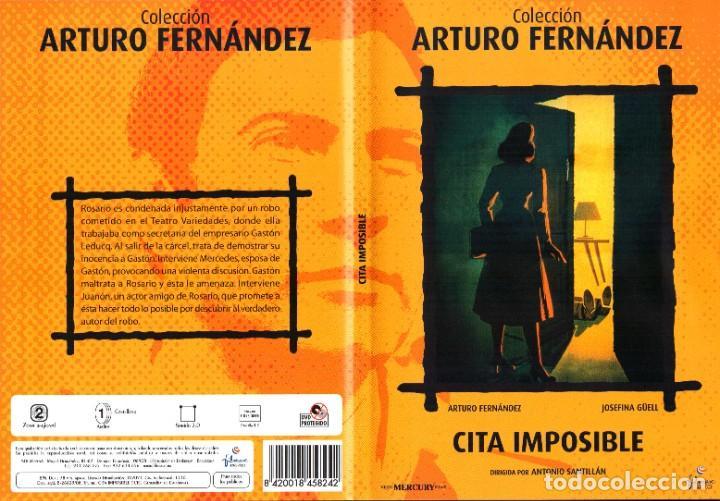CITA IMPOSIBLE 1959 DVD ARTURO FERNANDEZ JOSEFINA GUELL ANTONIO SANTILLAN (Cine - Películas - DVD)