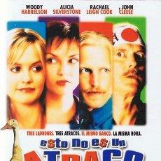 Cine: DVD ESTO NO ES UN ATRACO WOODY HARRELSON. Lote 279378308