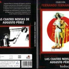 Cine: LAS CUATRO NOVIAS DE AUGUSTO PEREZ DVD 1976 FERNANDO FERNAN GOMEZ CHARO LOPEZ JOSE JARA. Lote 279403033