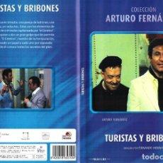 Cine: TURISTAS Y BRIBONES DVD 1969 ARTURO FERNANDEZ SONIA BRUNO FERNANDO MERINO. Lote 279403593
