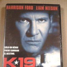 Cine: K 19. HARRINSON FORD. DVD. Lote 279466988