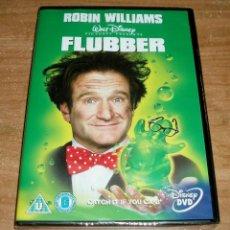 Cine: FLUBBER Y EL PROFESOR CHIFLADO DVD DISNEY COMEDIA NUEVO PRECINTADO ESPAÑOL (SIN ABRIR) R2. Lote 279469643