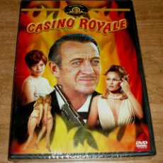 Cine: CASINO ROYALE DVD NUEVO PRECINTADO DAVID NIVEN ACCION ESPAÑOL (SIN ABRIR) R2. Lote 279470153