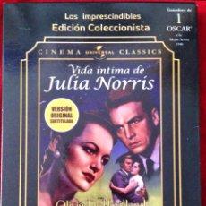 Cine: VIDA ÍNTIMA DE JULIA NORRIS DVD OLIVIA DEHAVILLAND. Lote 279471698