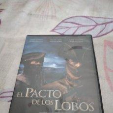 Cine: G-87 DVD CINE EL PACTO DE LOS LOBOS. Lote 279585833