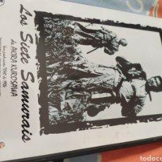 Cine: DVD LOS SIETE SAMURÁIS. Lote 279586703
