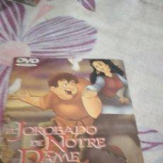 Cine: G-87 DVD CINE EL JOROBADO DE NOTRE DAME. Lote 279586898