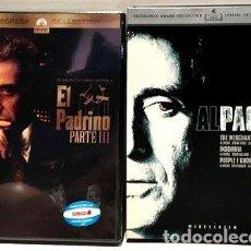 Cine: EL PADRINO 3 MERCADER INSOMNIA AL PACINO 3 DVD ORIGINALES. Lote 279613343