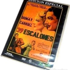 Cine: 39 ESCALONES DVD ALFRED HITCHCOCK. Lote 279626058
