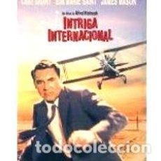 Cine: INTRIGA INTERNACIONAL ALFRED HITCHCOCK DVD ORIGINAL. Lote 279672533