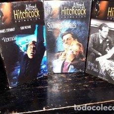 Cine: ALFRED HITCHCOCK CASSETT. Lote 279767368