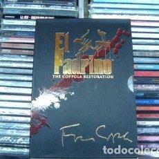 Cine: TRILOGIA EL PADRINO THE COPPOLA RESTORATION NUEVO 5 DVDS. Lote 279874098