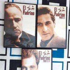 Cine: EL PADRINO TRILOGIA EN DVD. Lote 280057548
