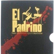 Cine: EL PADRINO THE COPPOLA RESTORATION 4 DVDS BOX SET. Lote 280063643