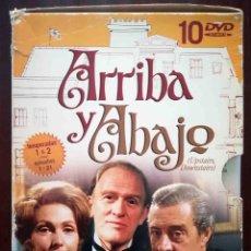 Cine: TODODVD: ARRIBA Y ABAJO - 1ª Y 2ª TEMPORADA. CAPÍTULOS 1 AL 21. Lote 280128723