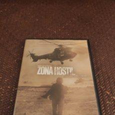 Cinema: ZONA HOSTIL DVD. Lote 280478643