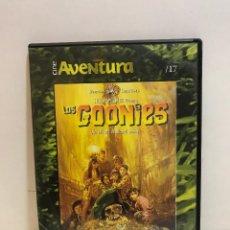 Cine: DVD - CINE - LOS GOONIES - CINE AVENTURA. Lote 280667888