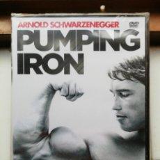 Cine: PUMPING IRON, SCHWARZENEGGER, DVD, NUEVO Y PRECINTADO. Lote 281008848