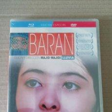 Cine: BARAN ( LLUVIA ) - BLU-RAY + DVD - PRECINTADO - EDICION ESPECIAL - MAJID MAJIDI. Lote 281983443