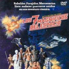 Cinema: DVD- LOS 7 MAGNÍFICOS DEL ESPACIO. Lote 282959423