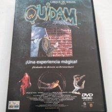 Cine: DVD CIRQUE DU SOLEIL - QUIDAM. Lote 283524258