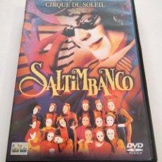 Cine: DVD CIRQUE DU SOLEIL - SALTIMBANCO. Lote 283539408