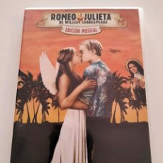 Cine: DVD ROMEO Y JULIETA DE WILLIAM SHAKESPEARE - ED. MUSICAL. Lote 283619123