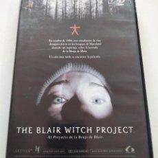 Cine: DVD THE BLAIR WITCH PROJECT + LIBRETO SOBRE LA FILMACIÓN. Lote 283625163