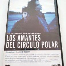 Cine: DVD LOS AMANTES DEL CÍRCULO POLAR. Lote 283625313
