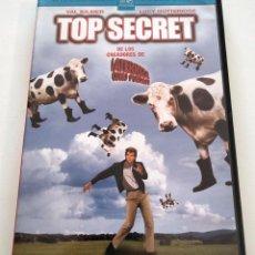Cine: DVD TOP SECRET!. Lote 283625628