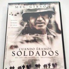 Cine: DVD CUANDO ÉRAMOS SOLDADOS. Lote 283625768