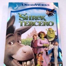 Cine: DVD SHREK TERCERO. Lote 283637348