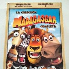 Cine: DVD PACK 2 DVDS MADAGASCAR - LA COLECCIÓN COMPLETA. Lote 283637893
