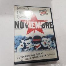 Cinema: D 2541 NOVIEMBRE  -DVD SEGUNDA MANO. Lote 284080093