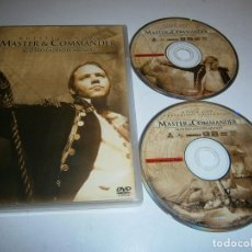 Cinema: MASTER & COMMANDER AL OTRO LADO DEL MUNDO DVD 2 DVDS RUSSEL CROWE. Lote 284539668
