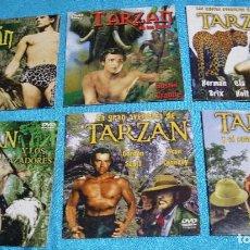 Cine: TARZAN LOTE DE 6 DVD DIFICILDE ALGUNA COLECCIÓN DE 2005-VER TITULOS- IMPORTANTE LEER DESCRIP Y ENVIO. Lote 285264723