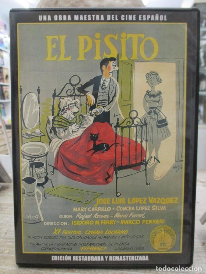 EL PISITO - JOSE LUIS LOPEZ VAZQUEZ - RAFAEL AZCONA - EDICION RESTAURADA Y REMASTERIZADA - DVD (Cine - Películas - DVD)