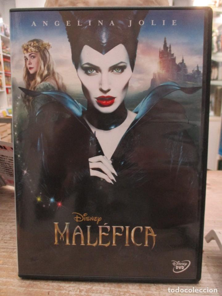 MALEFICA - ANGELINA JOLIE - WALT DISNEY - DVD (Cine - Películas - DVD)