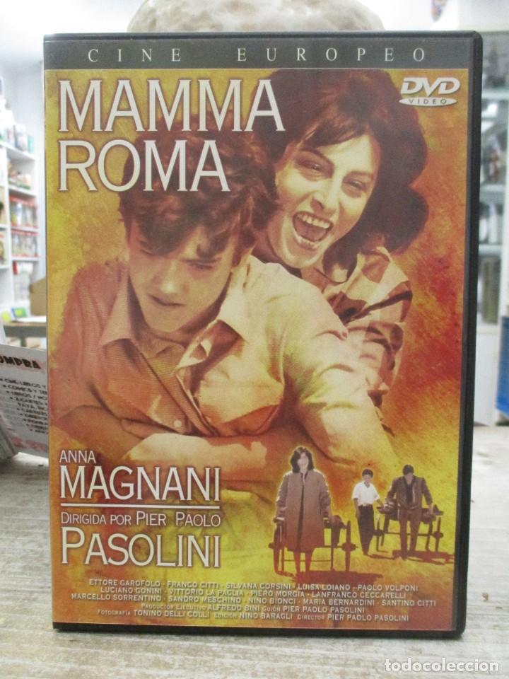 MAMMA ROMA - ANNA MAGNANI - PIER PAOLO PASOLINI - DVD (Cine - Películas - DVD)
