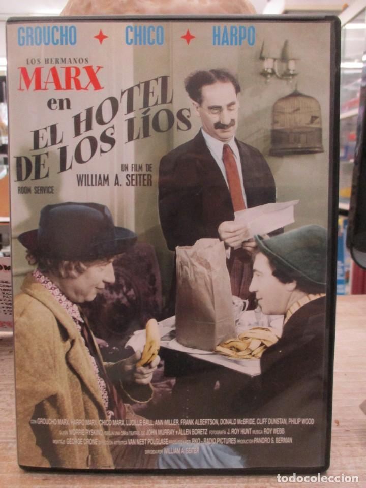EL HOTEL DE LOS LIOS - LOS HERMANOS MARX - DVD (Cine - Películas - DVD)