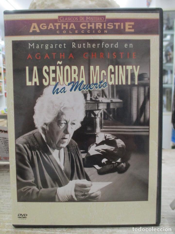 LA SEÑORA MCGINTY HA MUERTO - AGATHA CHRISTIE - MARGARET RUTHERFORD - DVD (Cine - Películas - DVD)